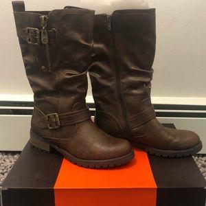 Medium Brown Fall Boots